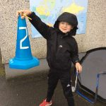 Finding shapes around the school